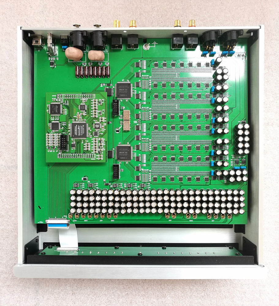 R-014 VENUS R2R Pure Balanced Decoder Use R2R DAC Modules FIFO 32Bit Digital Filter and 26bit DAC transform modules