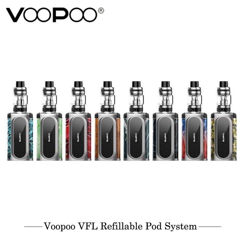 Origina VOOPOO Vmate Kit 200W With UFORCE T1 8ml Tank Dual Battery TC Box Mod Kit Electronic Cigarettes 200W Vaporizer 0.2ohm U2