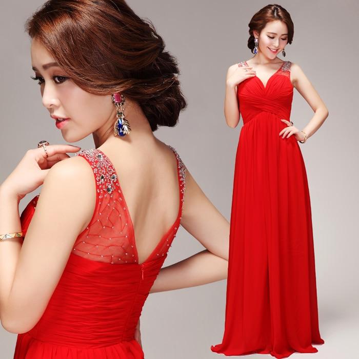Z новое поступление для беременных Плюс Размер свадебное платье вечернее платье Глубокий v-образный вырез сексуальное длинное модное красное 3221