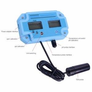 Image 4 - Yieryi PH 2983 cyfrowy LED PH i miernik tester tds z 2 w 1 do monitorowania wysokiej dokładności sprzęt narzędzia