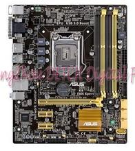 B85M-G B85 all solid desktop board supports four generations 1150 -pin motherboard