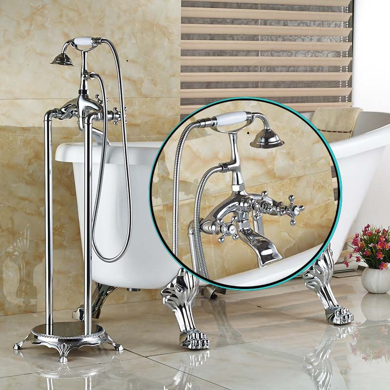 Online Get Cheap Clawfoot Tub Freestanding Faucet Aliexpresscom