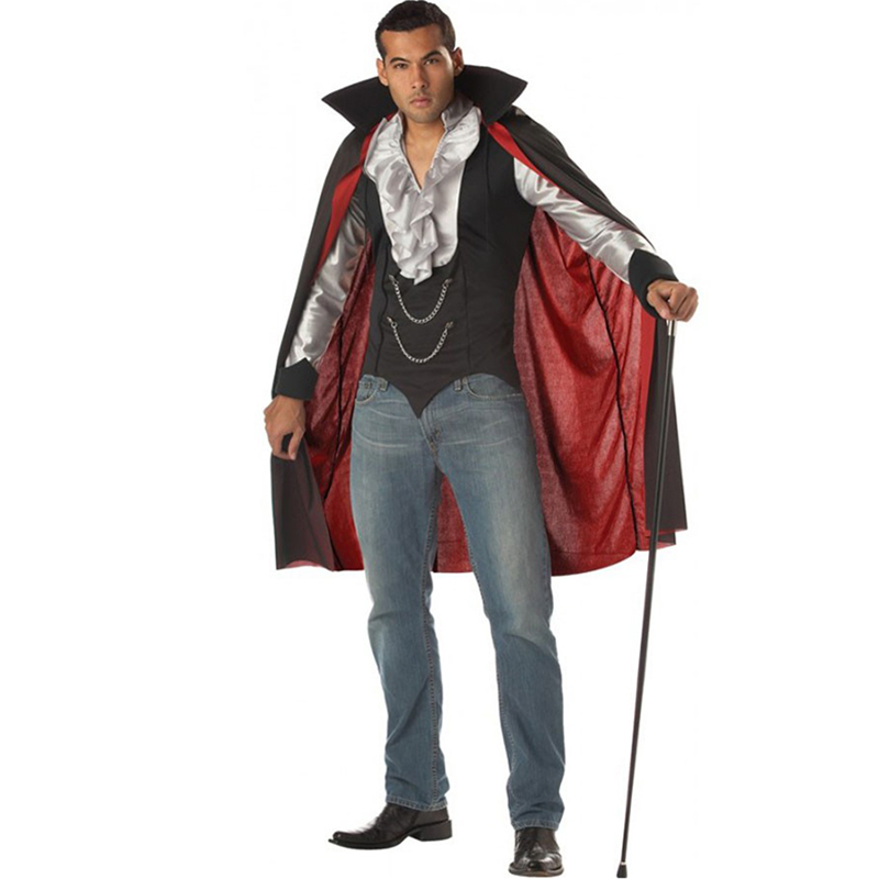 Vampire Costumes Europe Vampire Adults Man Cosplay Outfit For Halloween Carnival Party Role Play Costumes