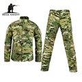 Военный тактический брюки-карго равномерное водонепроницаемый камуфляж тактический военная bdu combat uniform us army men clothing set