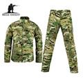 Ejército militar pantalones cargo tácticos bdu uniforme de combate uniforme de camuflaje táctico militar a prueba de agua ee. uu. army men clothing set