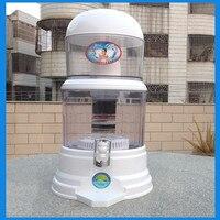 Reta elétrica Bebida Balde de Barris de Filtro Purificador De Água Dispensador de Água Alcalina Filtro De Tratamento de Água Mineral Pote