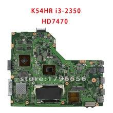 K54HR X54H K54LY материнская плата для ноутбука Asus для i3 Процессор протестированы в порядке гарантия 6 месяцев