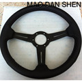 2015 new hot universal steering wheel / leather steering wheel racing 14 inch / 350MM steering wheel high quality Spot