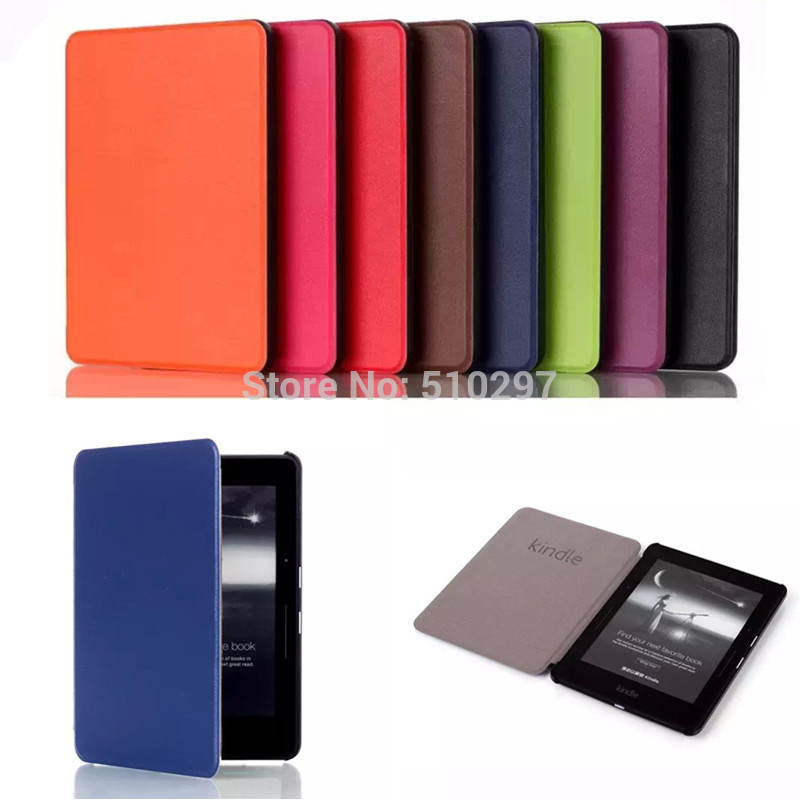 CY Book Case For Kindle Voyage E Book case KST Voltage Style Ultra Slim PU leather