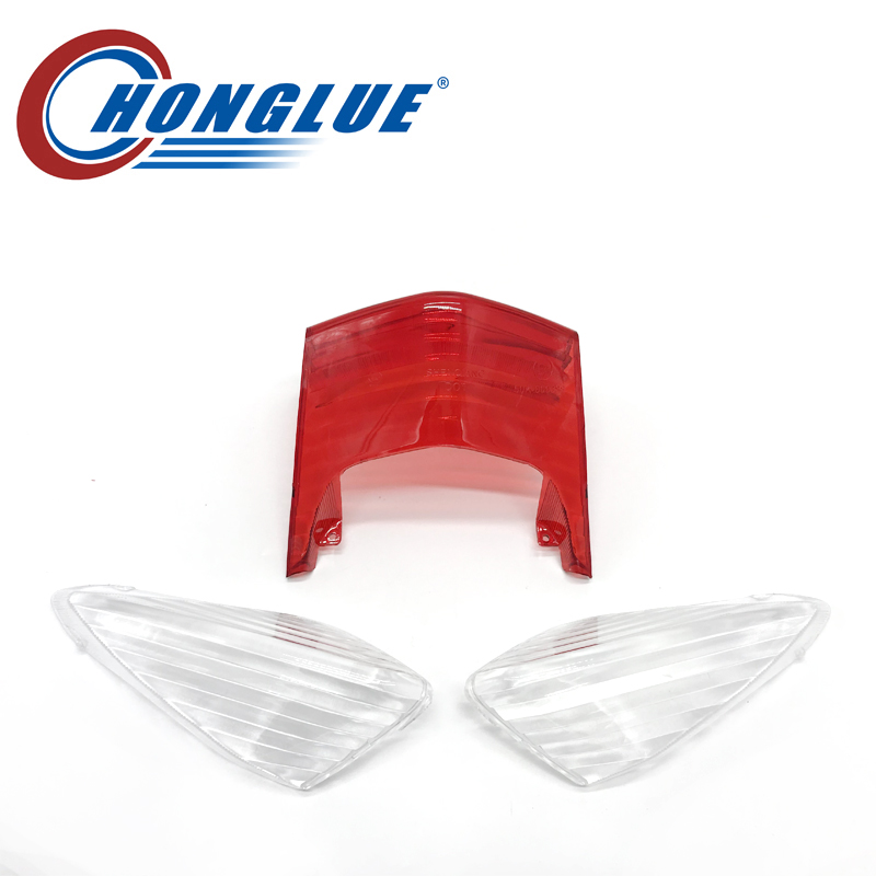 honglue For YAMAHA CYGNUS 5TY Motorcycle scooter Replacement Taillight Cover Rear Stop Lamp Guard Tail Brake Light Cap keoghs real adelin 260mm floating brake disc high quality for yamaha scooter cygnus modify