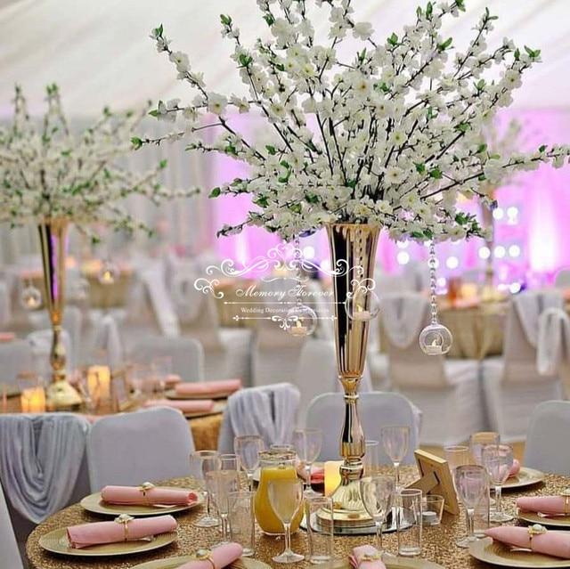 Aliexpresscom  Buy 80Cm Tall Wedding Flower Vase Metal -8613