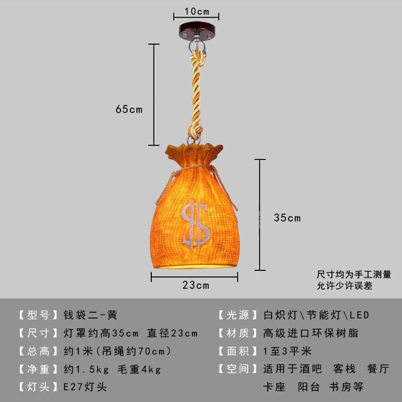 Personalidade criativa retro loft resina garrafa barril luzes pingente moderno bar restaurante café luminária - 4
