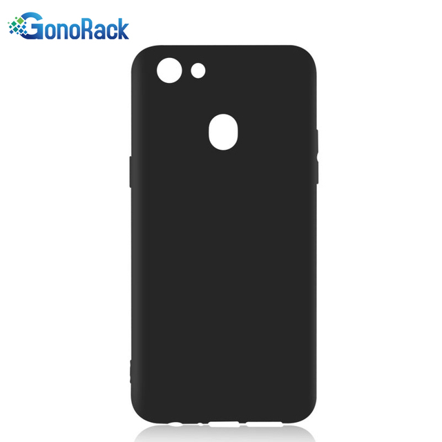 separation shoes e2ea3 35307 US $1.55 22% OFF|GonoRack Black TPU Case For Oppo F5 Matte Rubber Flexible  Soft Back Cover Slim Gel Case For Oppo F5 A73 Protective Case Fundas-in ...