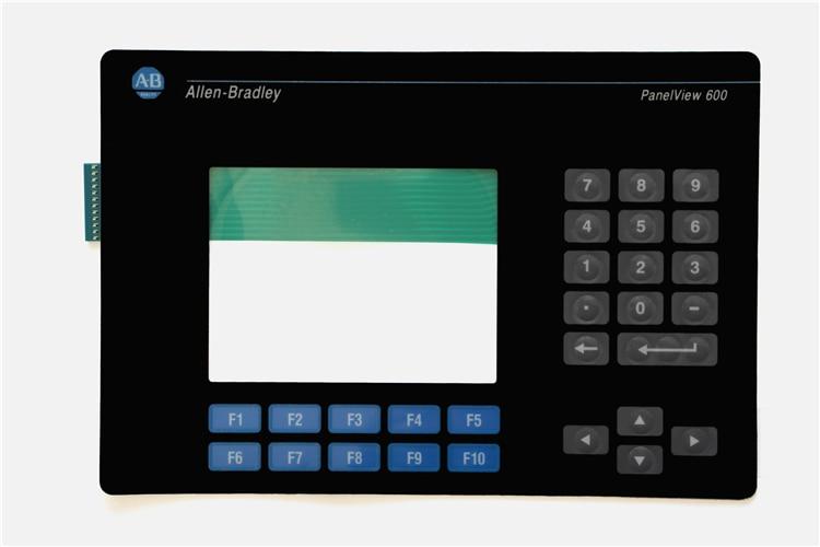 2711-K6C10 2711-B6 series membrane keyboard for Allen Bradley PanelView 600 Micro series, FAST SHIPPING
