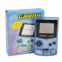 Gb boy retro clássico máquina de jogo tetris embutido 66 jogo handheld jogo conectado tv game console