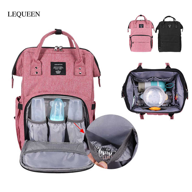 7550aca7 Large Capacity Maternity Nursing Bag Mummy Diaper Bag Waterproof Mother  Travel Backpack Maternity Handbag Baby Nappy