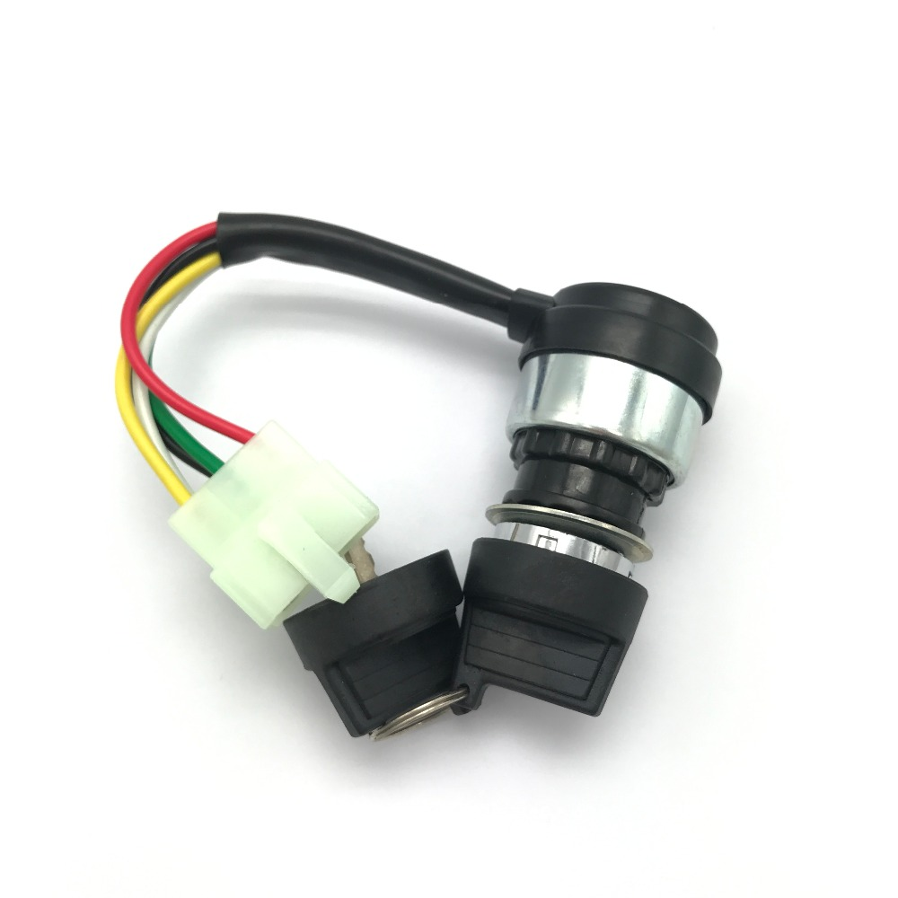 US $12.6 |New Hammerhead 5 Wires Ignition Key Switch Pigtail STD SS on