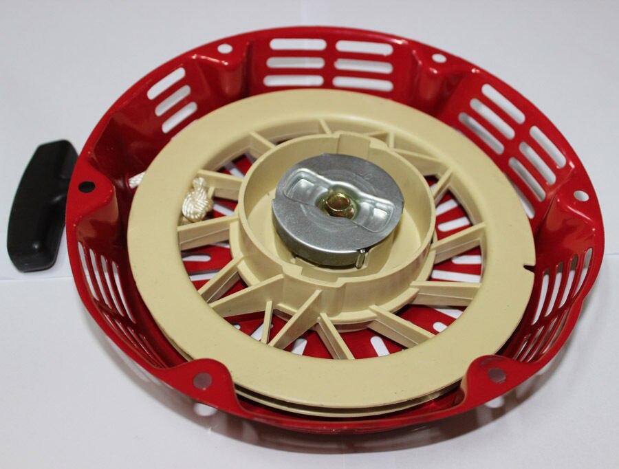 Új HONDA GX340 GX390 Vörös PULL START RECOIL - Elektromos szerszám kiegészítők - Fénykép 3
