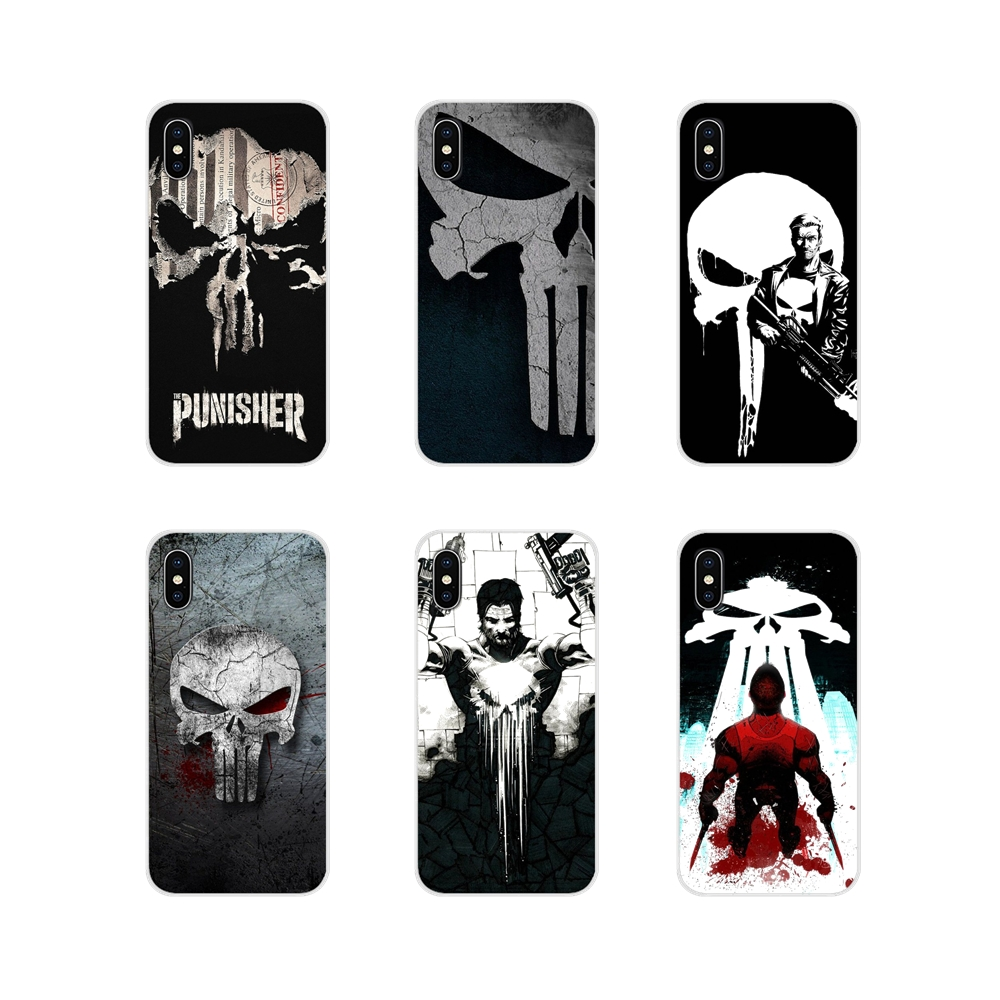 Accessories Phone Cases Covers The Punisher Frank For Samsung Galaxy S3 S4 S5 Mini S6 S7 Edge S8 S9 S10 Lite Plus Note 4 5 8 9