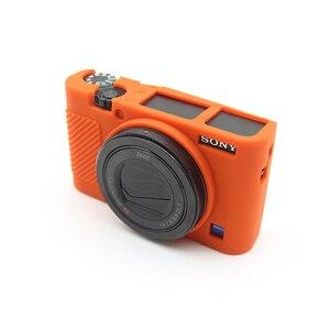 Image 5 - Gummi Silizium Fall Abdeckung Protector Soft Gehäuse Rahmen für Sony RX100 III IV V M3 M4 M5 RX100M3 RX100M4 RX100M5 kamera