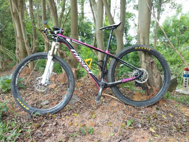 Cheap trident thrust 29er suspension bike ,full carbon MTB bike suspension MTB frame 29er mountain bike frame ,carbon frameset