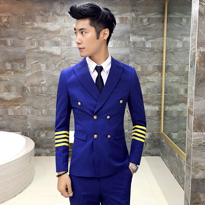 free shipping latest coat pant designs mens casual wedding suit ...