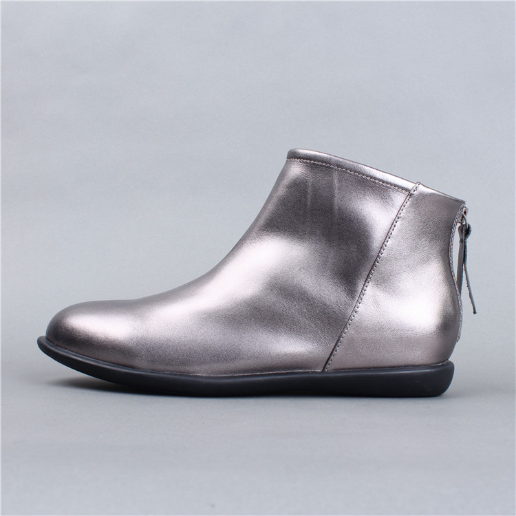 Fashion Women Autumn Ankle Boots Soft Bottom Comfortable Winter Boot Warm Handmade Genuine Leather Women Shoes