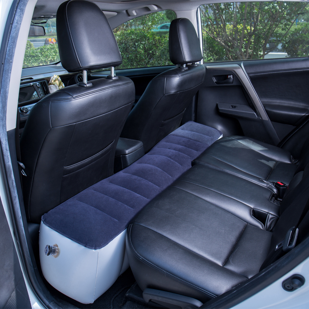 1  Inflatable Automotive Mattress Mattress Tenting Outside Again Seat Sturdy Auto Cushion for Automotive Journey Air mattress 130*27*33 cm Automotive Equipment HTB1NsMHh7omBKNjSZFqq6xtqVXam