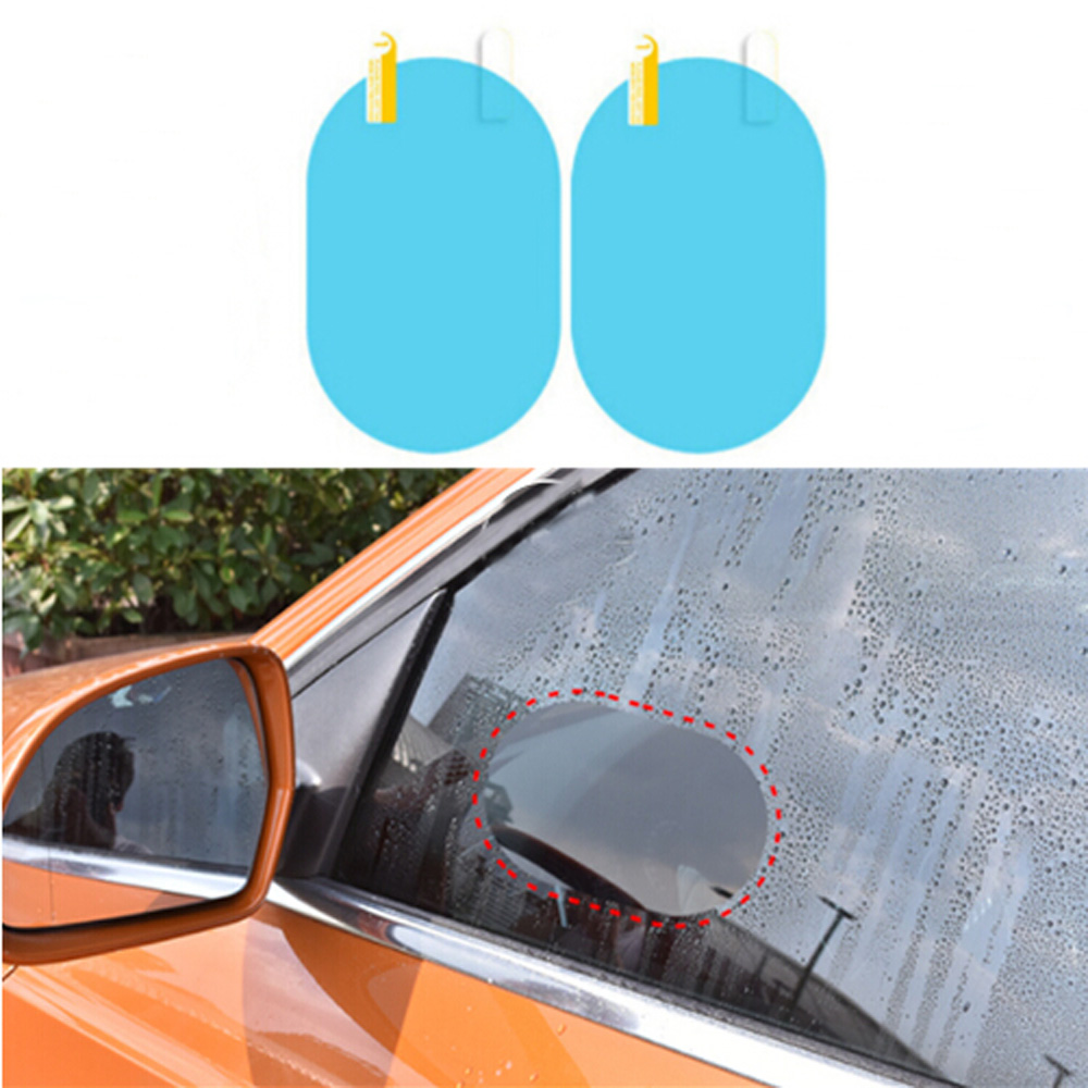 Dutiful Car Rainproof Rearview Mirror Protective Film Auto Accessories For Hyundai Ix35 Ix45 Sonata Verna Solaris Elantra Tucson Mistra Promoting Health And Curing Diseases Exterior Accessories