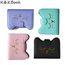 K&KBOOK KK007 New Kawaii Spiral Notebook A6 Binder Ring Leather Notebook Diary Planner Organzier Spiral Cute Agenda Planner A6