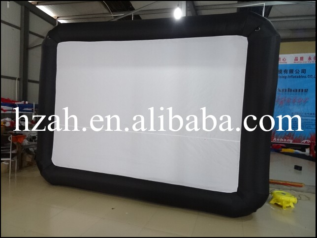 Cheap Inflatable Projection Screen,advertising Inflatable Cinema Screen