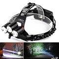 LED Headlight Flashlight Torch Cree 3x XM-L T6 Headlamp Head Light Lamp l7117