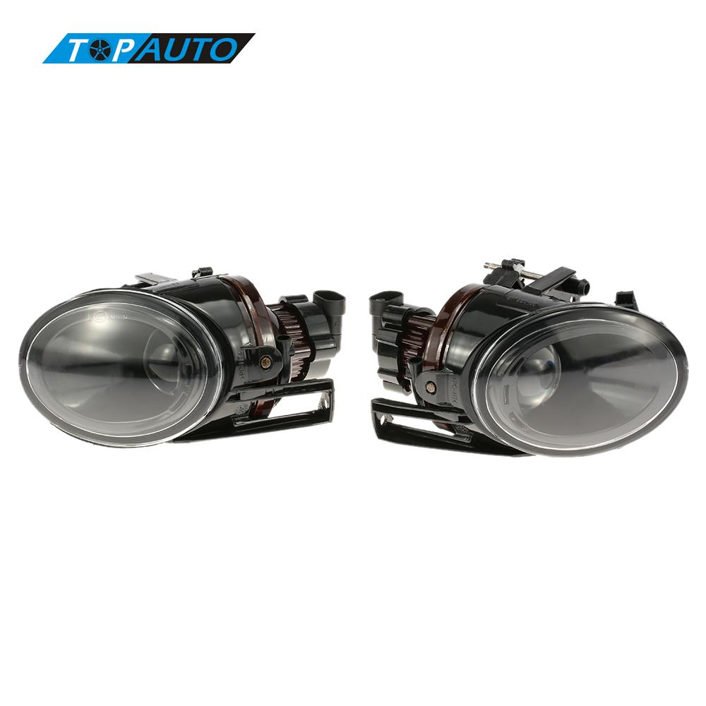 1 Pair of Car Front Fog Lights Auto Lamp Direct Bolt-On Easy Install for VW Volkswagen Passat B5 3BG 3B3 3B6 2002-2005 car rear trunk security shield cargo cover for volkswagen vw tiguan 2016 2017 2018 high qualit black beige auto accessories
