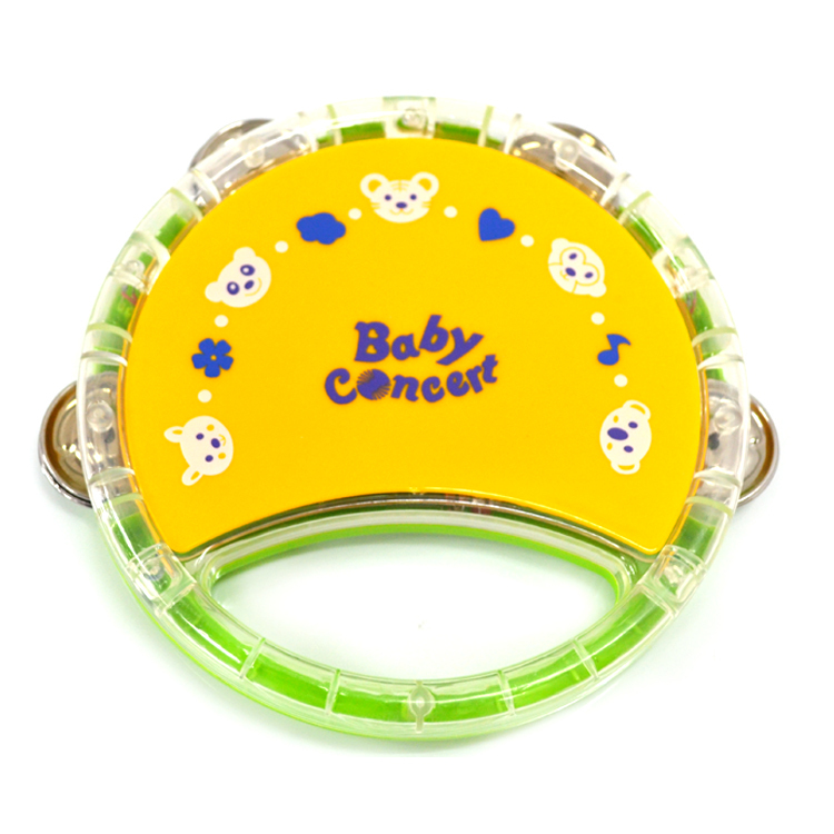 Flash music hand drum bell drum 838 - 28 puzzle baby early learning toy