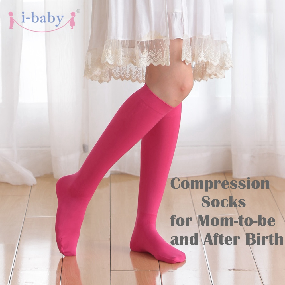 Maternity Compression Stockings Premium Close Toe Pregnancy Socks With Guaranteed Joint  ...
