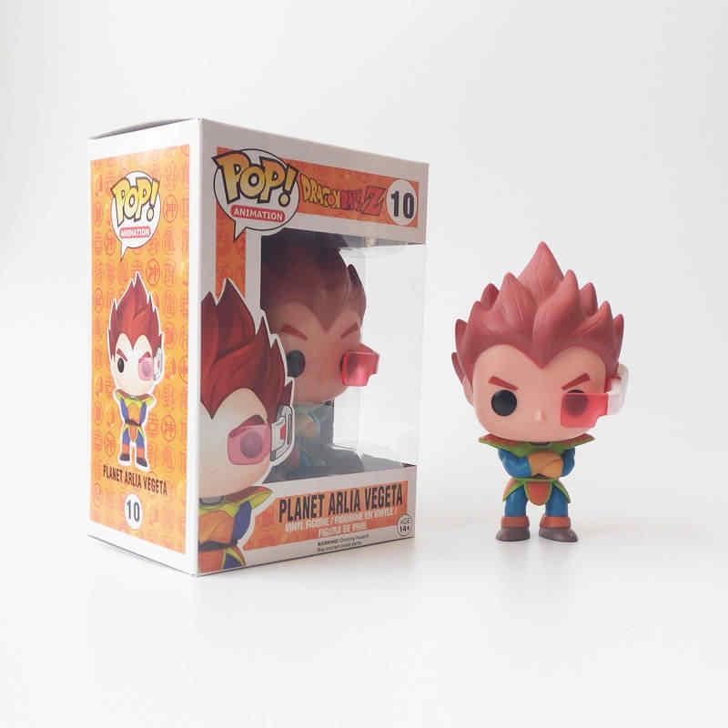 Funko pop Anime Japonês Dragon Ball PLANETA VEGETA ARLIA Vinyl Action Figure Coleção Modelo Brinquedos para Crianças presente de Aniversário