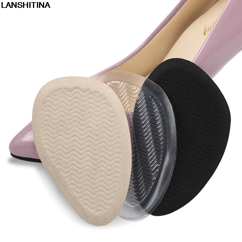 2017  High Heel Insoles Pads Gel Cushions No Slip Insole Forefoot Pad Cushion Accessoire Chaussure Shoe Inserts Adjusting Size 2017 new winter wool insole hyperion warm shoe pad thick lamb cashmere insoles for women medium b m accessoire chaussure