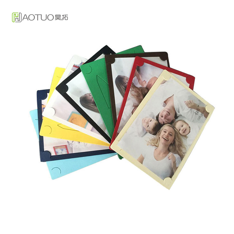 6 inch White Picture Frame Creative Gift DIY Handmade Home Decor Wedding Party Decoration Cardboard Picture Frame Picture Album