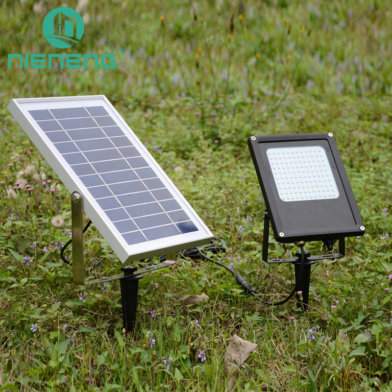 NIENENG solar light garden flexible led solar light outdoor bulb lighting panel controller china charger grass lamp ICD90035 ...