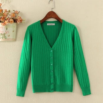 Sweater Women 2018 New Plus Size Cardigan Female Knitted Sweater Long Sleeve Crochet Casual V-Neck Cardigans Woman Tops ZA 4XL