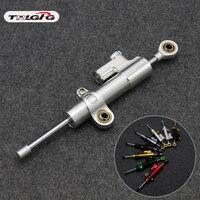 Universal Motorcycle Adjustable Steering Damper Stabilizer For BMW S1000RR S1000XR Kawasaki Z750 Z800 Z1000 ER6N Yamaha R3