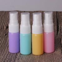 Toptan 10 ml renkli taşınabilir seyahat parfüm atomizer boş cam sprey şişe küçük kozmetik konteyner