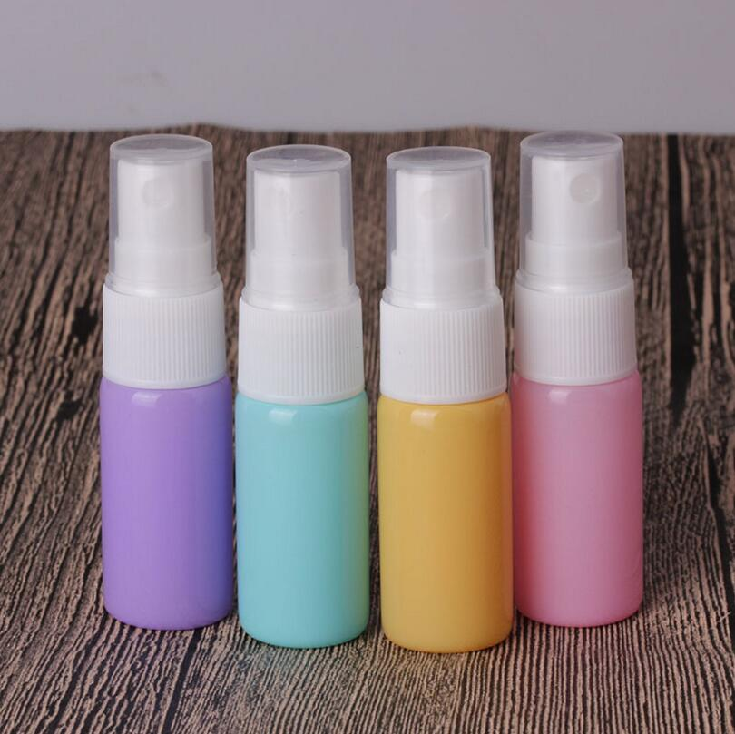 где купить Wholesale 10ml colorful portable travel perfume atomizer empty glass spray bottle small cosmetic container по лучшей цене