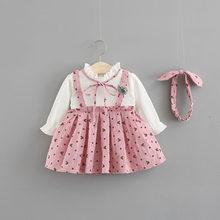 48ccd72a6f62f Popular Korean Cute Baby Girl Autumn Dress-Buy Cheap Korean Cute ...