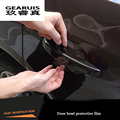 4 protection handle parts scratch film protector skin film rhino door for Audi A3 A4 B8 A5 A6 C7 A7 Q3 Q5 Door  wrist  membrane