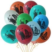 Как приручить дракона 10 шт. 12 дюймов воздушный шар Черный Дракон Беззубик с днем рождения ребенка мальчик тема герой декоративные игрушки