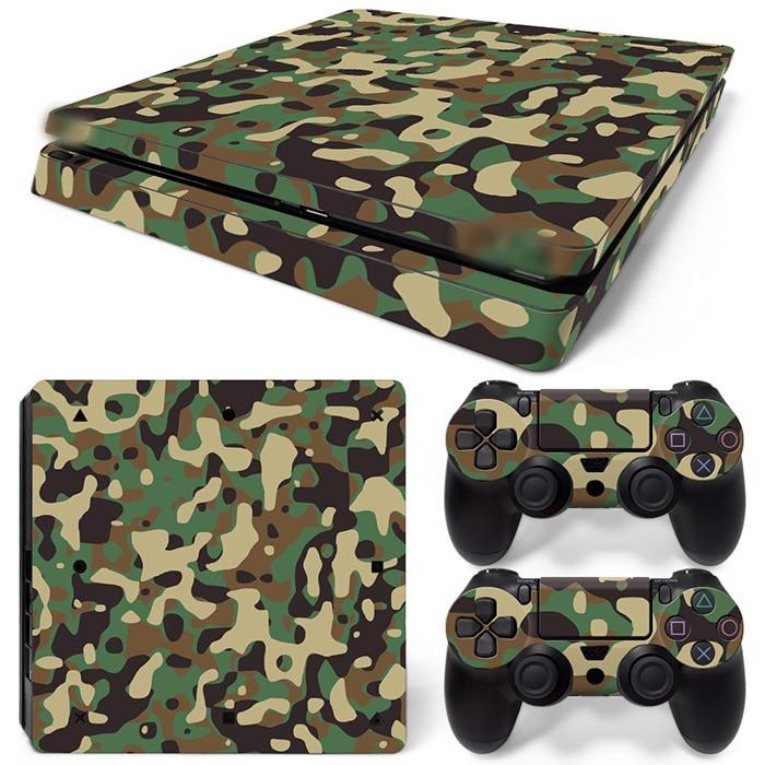 Free Drop Shipping vinyl decal dækker beskyttende skind til PlayStation 4 Slim til PS4 skin sticker TN-P4Slim-1531