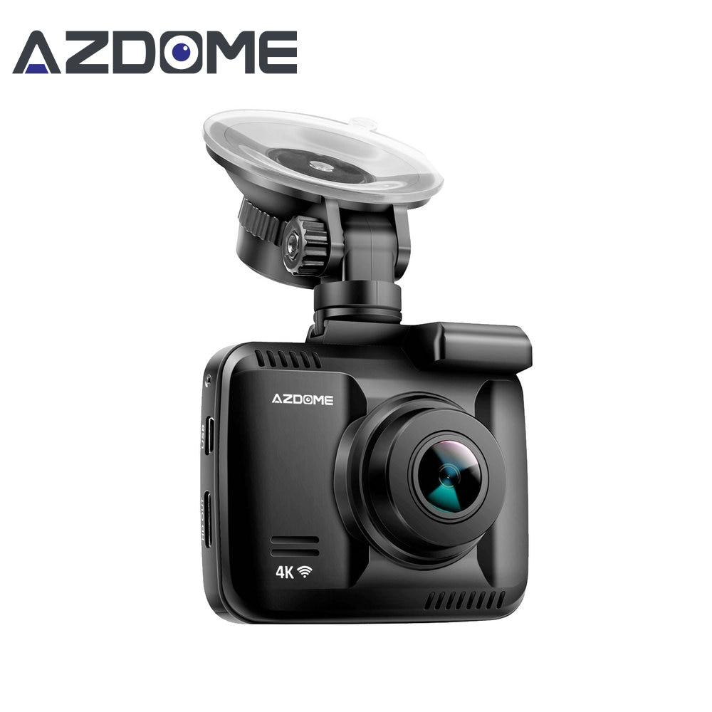 Azdome GS63H WiFi Car Dvr Registratore Dash Cam Novatek 96660 veicolo Fotocamera Costruito nel GPS Videocamera 4 K 2160 P Visione Notturna Dashcam