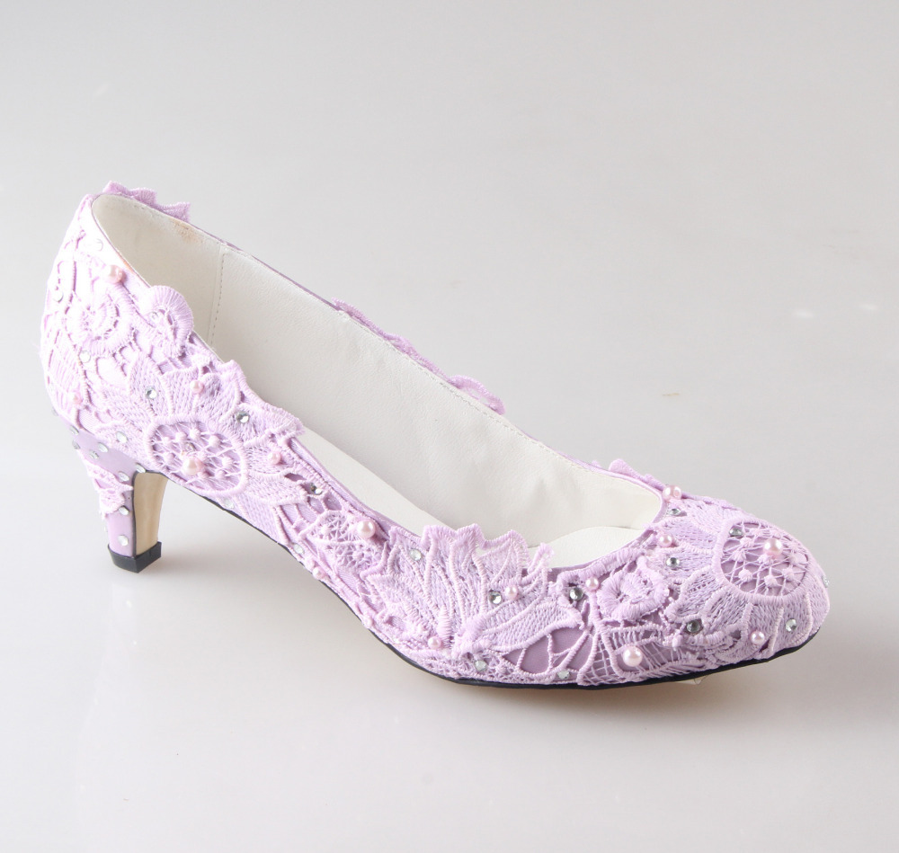 Aliexpress.com : Buy Handmade light purple lavender lace woman ...