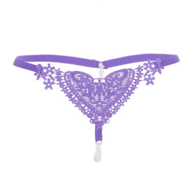 Lace Low Waist Thong G-string